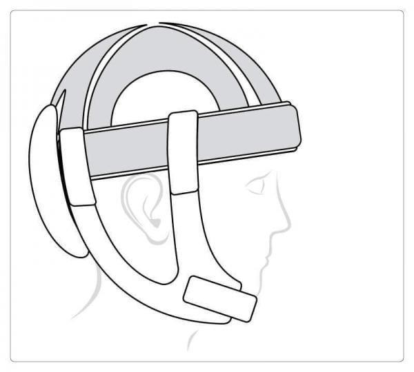 Starlight Flex mit alternativer Oberseite, mit Klett einstellbar