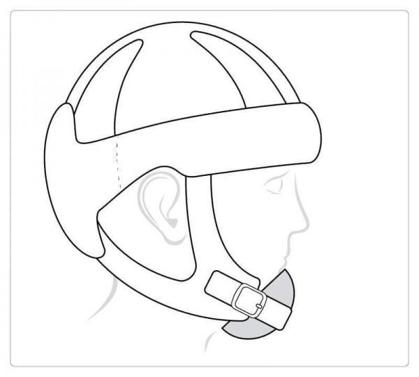 Starlight® Go Sport, chin protection
