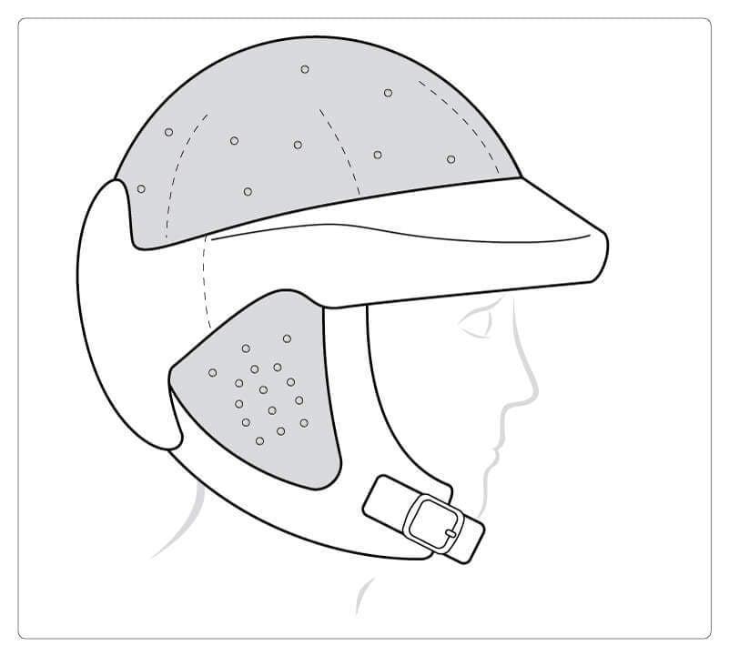 Starlight® Go Sport mit geschlossener Oberseite und geschlossenen Ohren