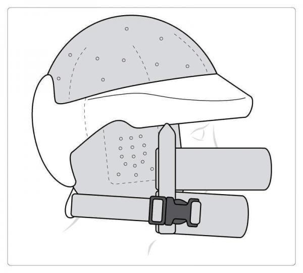 Oberseite geschlossen, Ohrschutz, Xtra-Gesichtsschutz