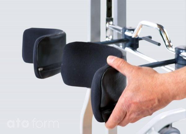 3-D verstellbare Kniepelotten