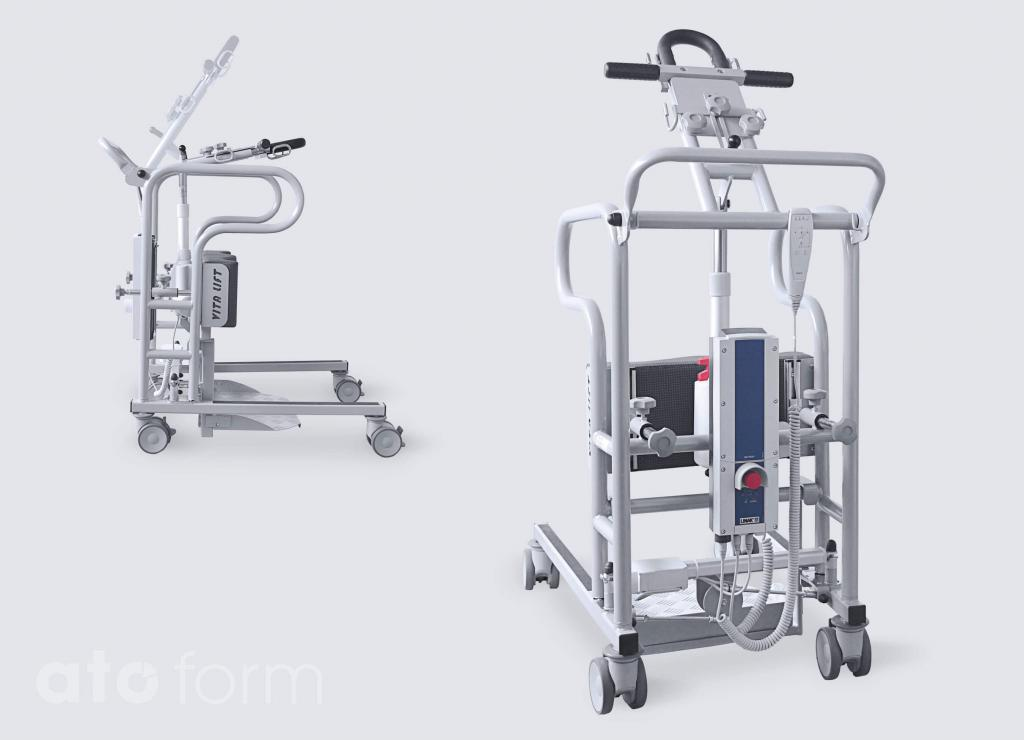 Stand Up Walking Transport And Transfer Aid Vita Lift