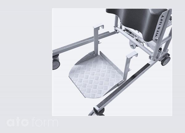 Vita-Lift® - hochklappbare Fußplatte
