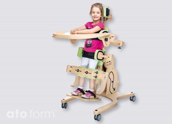 Stehständer Cat II Invento in der Rückenlage