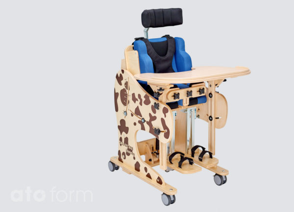 Therapiestuhl Dalmatiner, sitzende Position