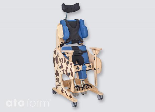 Therapiestuhl Dalmatiner, stehende Position