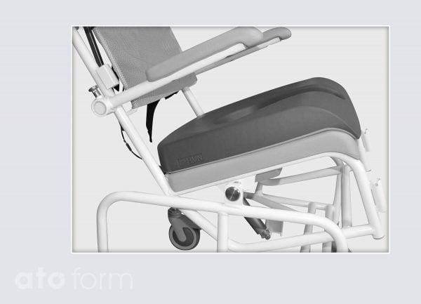 Dusch- und Toilettenstuhl M2 Zubehör - Druckentlastende Sitzauflage