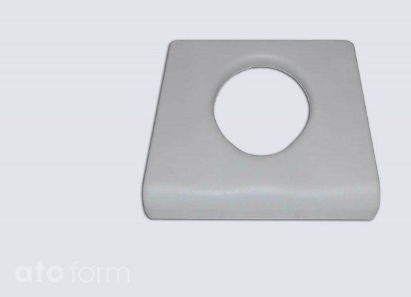 Dusch- und Toilettenstuhl M2 Zubehör - Standardsitzplatte