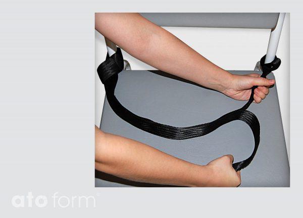 Dusch- und Toilettenstuhl M2 Zubehör - Haltestange und Haltebügel