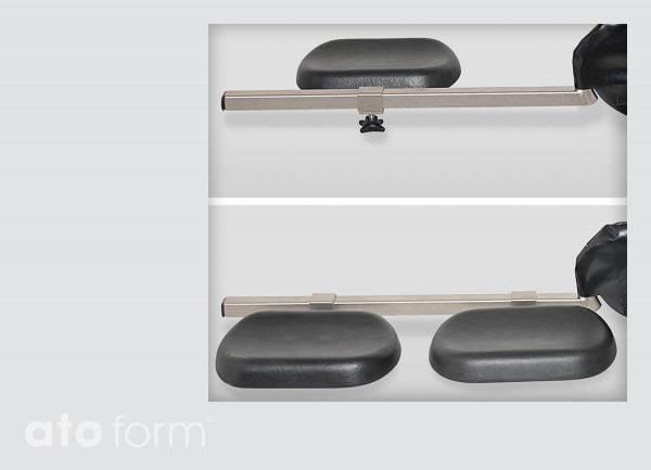 Dusch- und Toilettenstuhl M2 Zubehör - Beinstützen