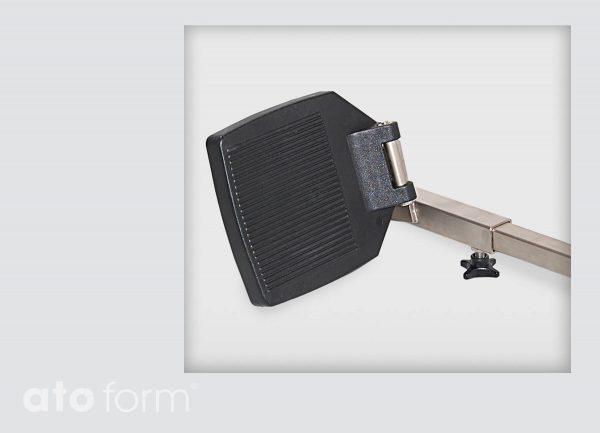Dusch- und Toilettenstuhl M2 Zubehör - Beinstütze mit Fußplatte
