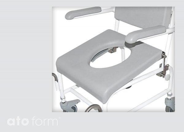 Dusch- und Toilettenstuhl M2 Zubehör - Hüftsitz