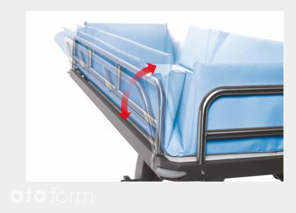 Duschwagen - Reduzierung der Seiten