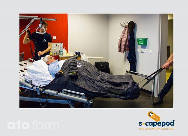 Evakuierungstuch Bariatric S-CapePod