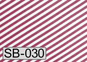 Sonderfarbe rot-weiß gestreift