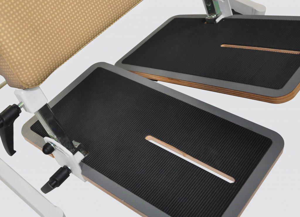 BS-100 geteilte Fußplatten