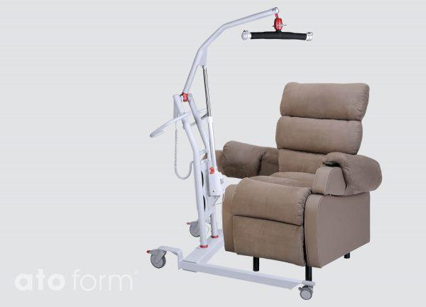 Cocoon - einfacher Zugang mit dem Patientenlifter