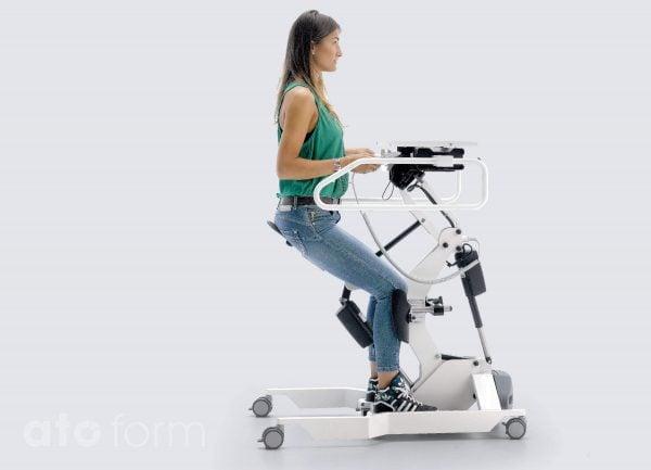 Aufstehhilfe und Stehtrainer Easy Up - Anwendung