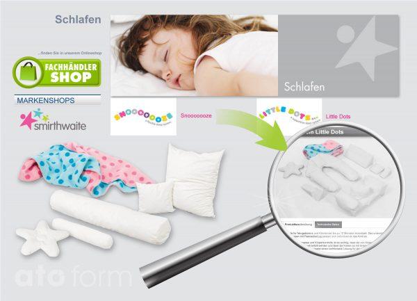 Fachhandel Onlineshop Schlafsysteme Snooooooze - Little dots