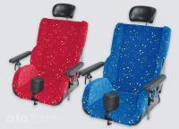 Modular seat Physio Punkt available in two colours