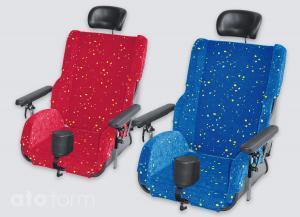 Sitzschale Physiopunkt erhältlich in zwei Farben