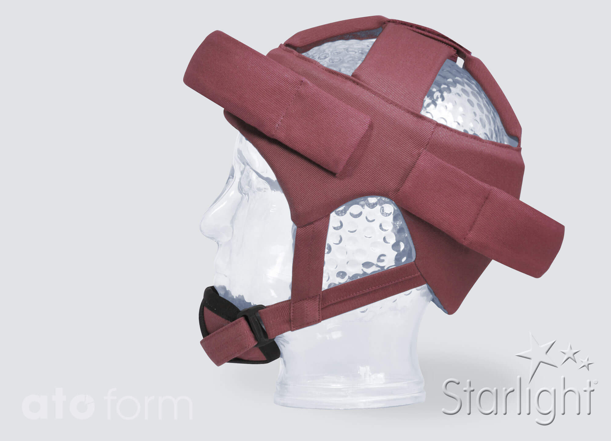 Head protection Starlight Base with chin, forehead and neck protection (accessories)