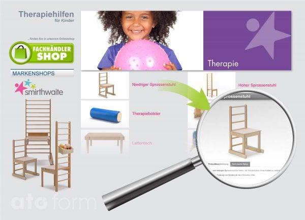 Fachhandel Onlineshop Therapiehilfen für Kinder