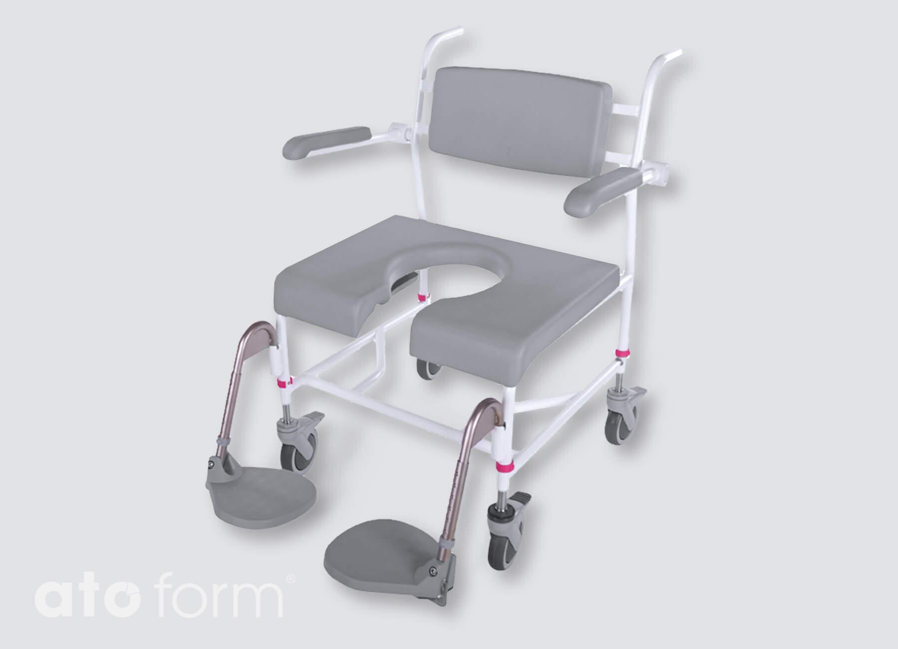 Dusch- und Toilettenstuhl M2 XXL 200 kg