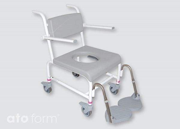 Dusch- und Toilettenstuhl M2 Basic Standardsitzplatte