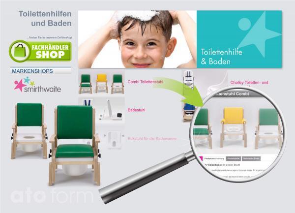 Fachhandel Onlineshop Hilfsmittel Bad und WC für Kinder