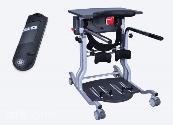 Standing frame with power lift Vision® Junior and wireless remote control