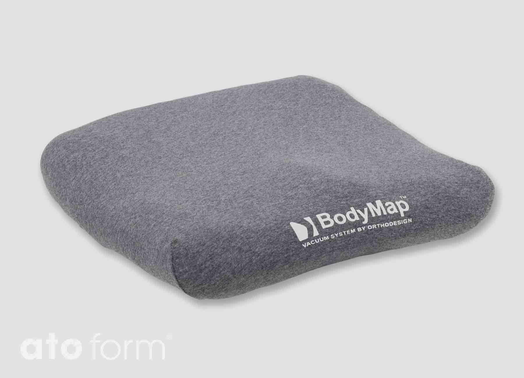 BodyMap Baumollbezug in Grau