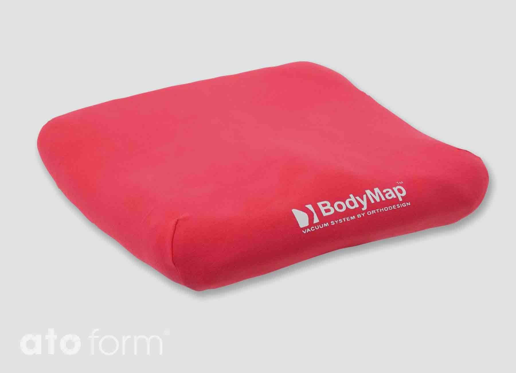 BodyMap Baumollbezug in Rot