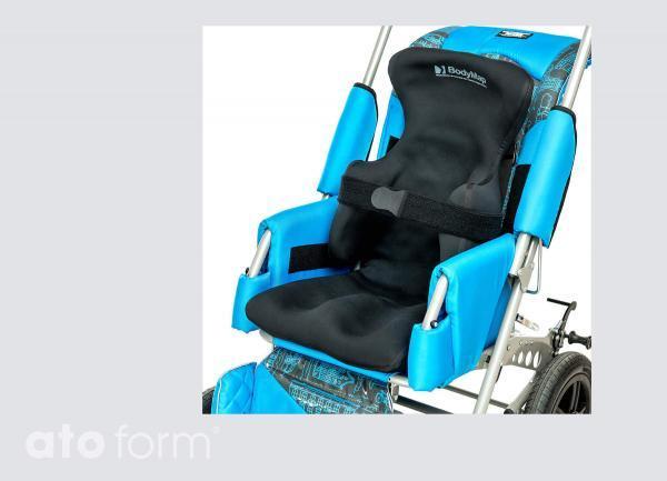 Vakuum-Positionierungsauflage BodyMap AC - Einsatz im Buggy