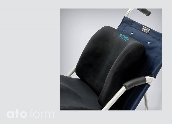 Vakuum-Sitzkissen BodyMap A - Einsatz im Buggy