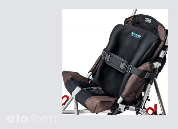 Vakuum-Sitzkissen BodyMap A in der Anwendung