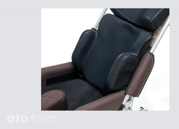 Vakuum-Rückenkissen BodyMap B Plus in der Anwendung