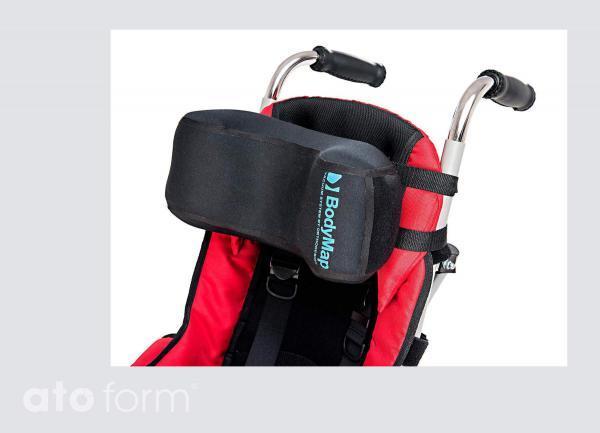 Vakuum-Kopfstütze BodyMap D - Einsatz im Buggy