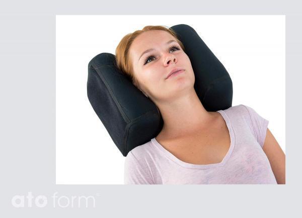 Vakuum-Kopfstütze BodyMap D in der Anwendung