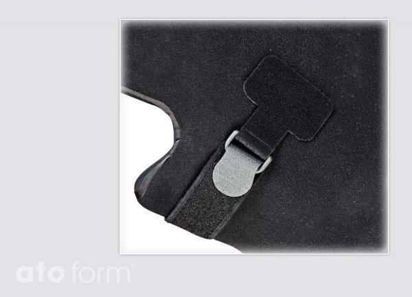 BodyMap Polster für Gurte mit Fixlockclips - Anwendungsbeispiel