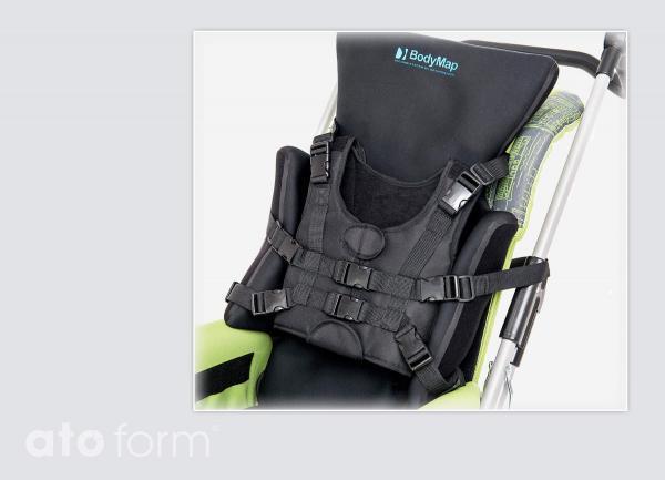 BodyMap Stabilisierungsgurt mit Fixlockclips - Anwendungsbeispiel
