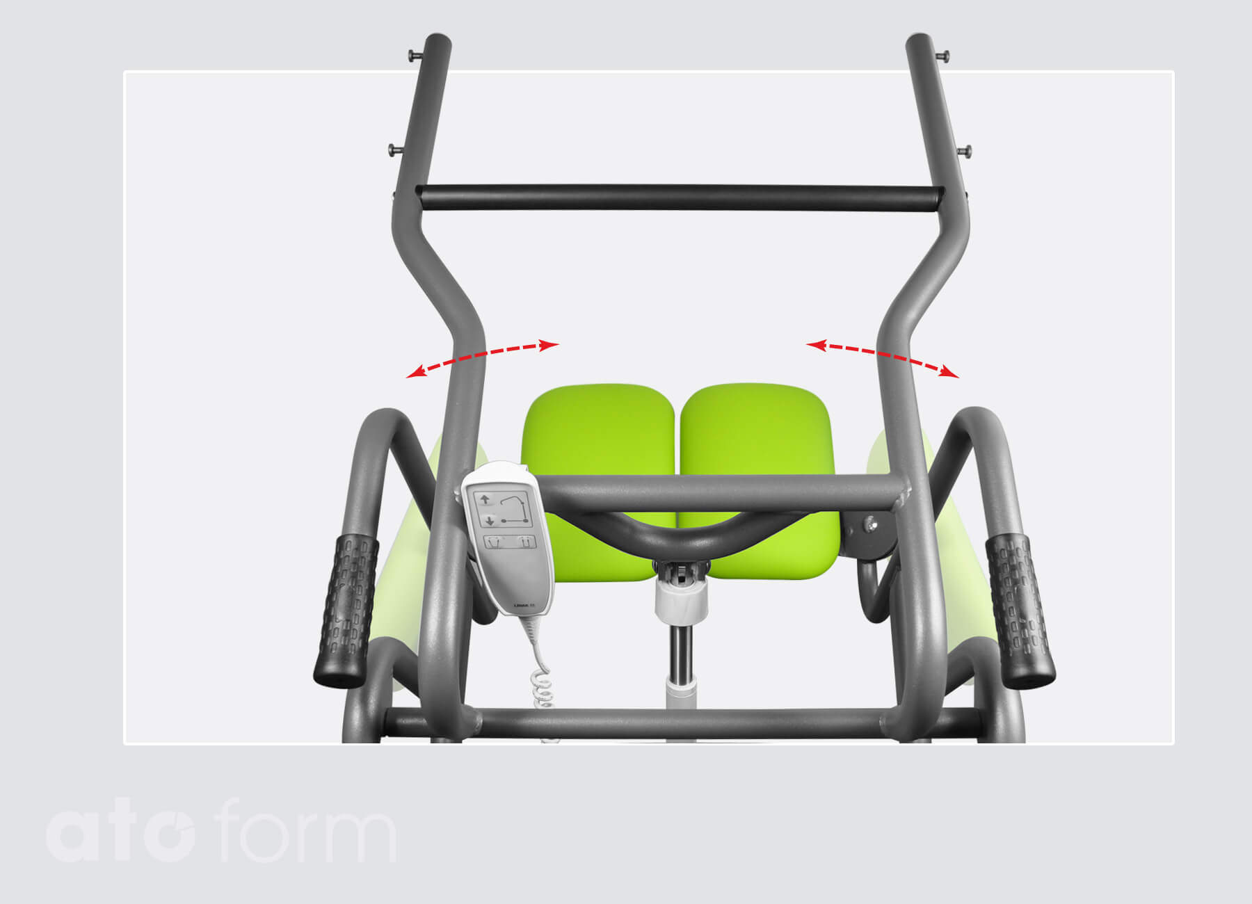 Stand-up and transfer aid Mover - quick, stable and safe transfer