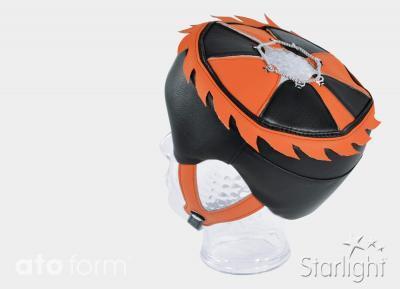 Starlight Secure Leder als Variante mit Flammenkranz