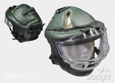 Starlight Go Sport mit Visier, Verschluss auf der Rückseite