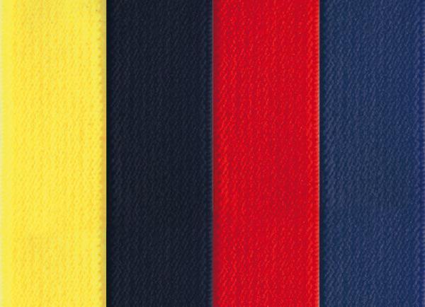 Lieferbare Farben für Bänder