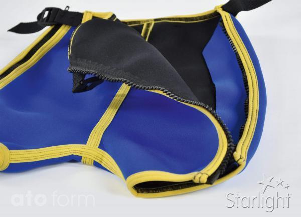 Aquather - Hose mit Reißverschlüssen an den Seiten