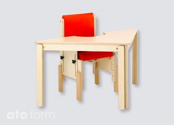 Kombinierbare Tische dreieckig