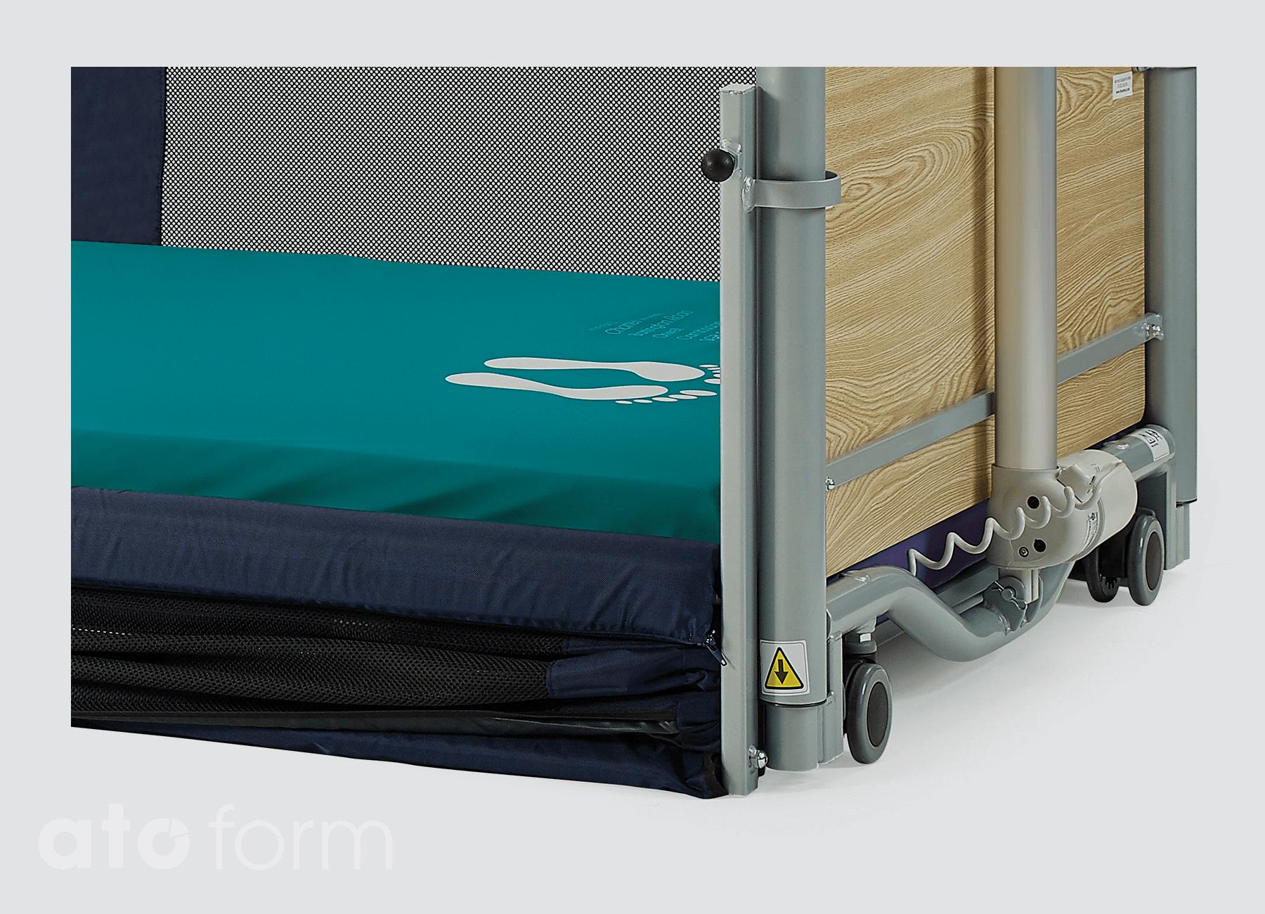 Floorbed® 2 - höhenverstellbares Niederflurbett - Pflegebett