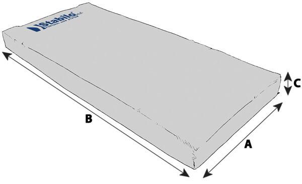 Technische Daten STABILObed® Selbsthaftender Matratzenbezug