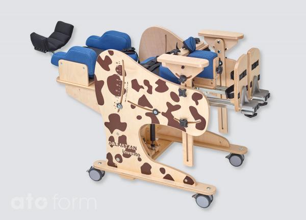 Therapiestuhl Dalmatiner, liegende Position
